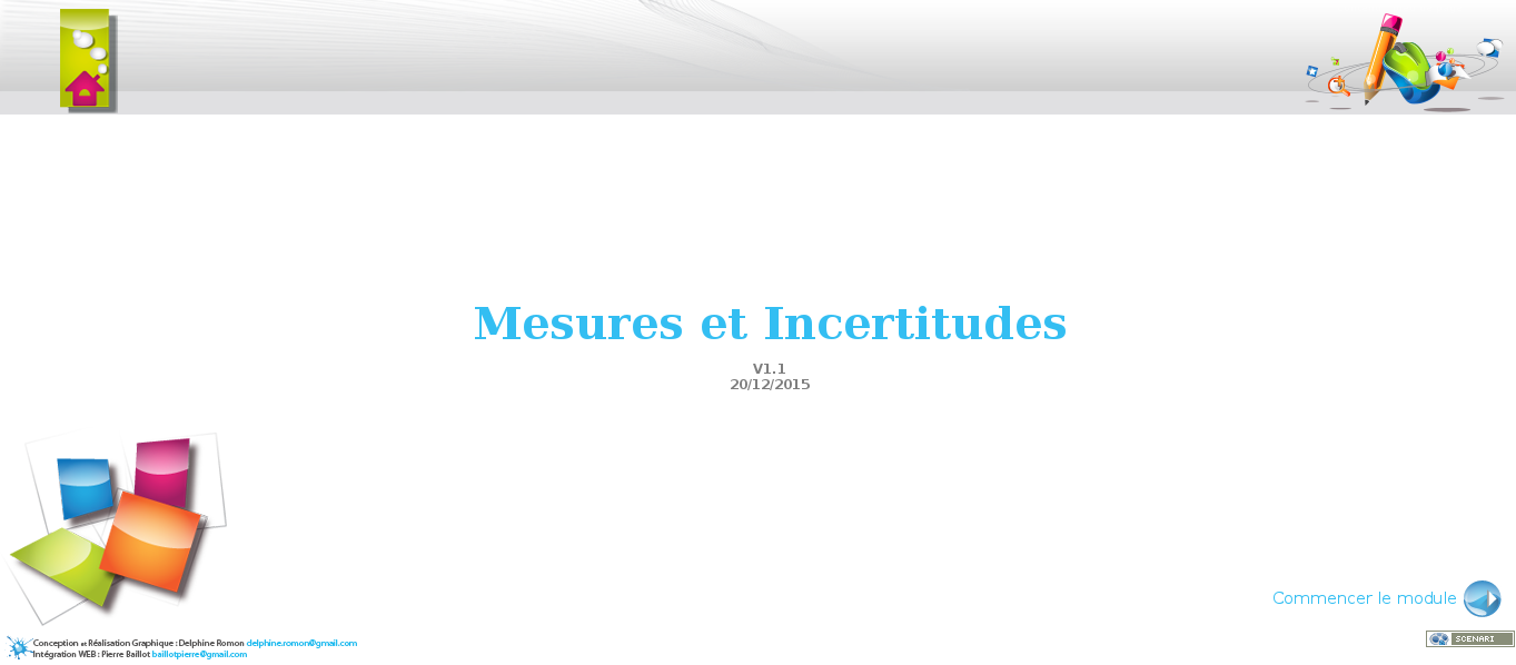 Mesures et Incertitudes